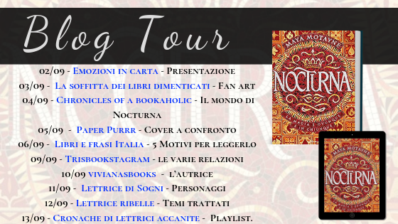 Blog Tour Nocturna: L'autrice