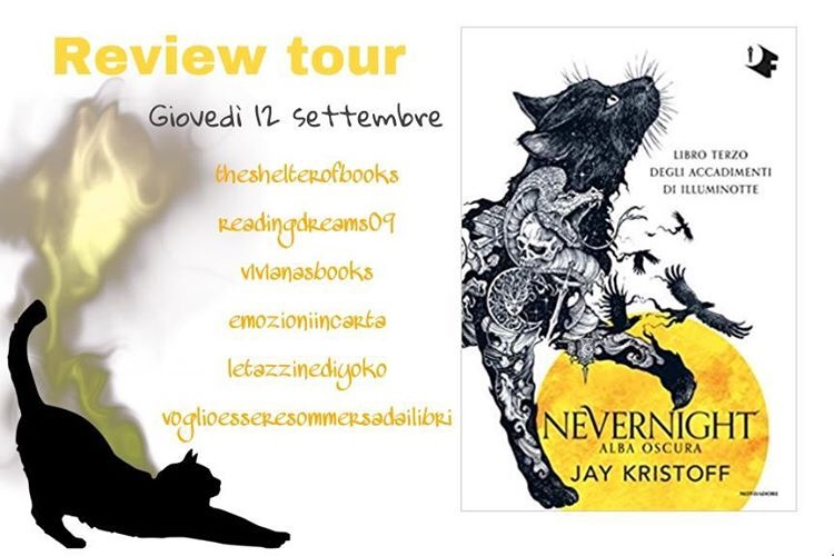 Review Tour: Nevernight III. Alba oscura