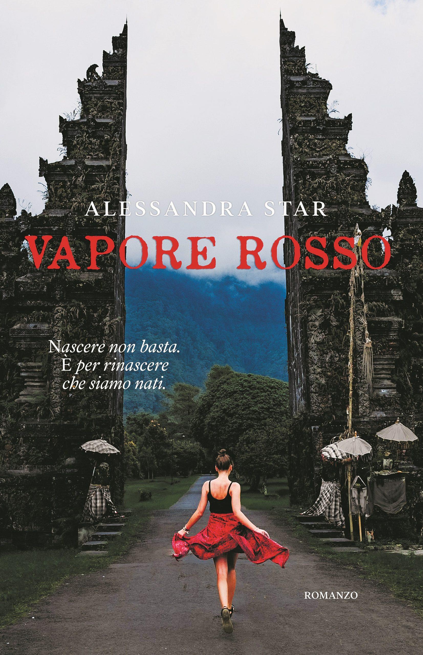 Cover Reveal: Vapore rosso