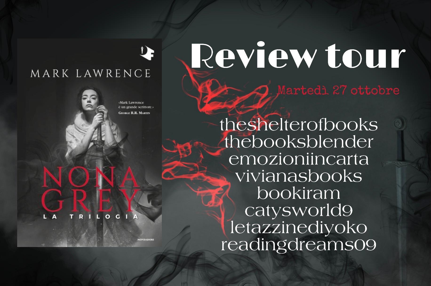 Review Tour: Nona Grey – La trilogia