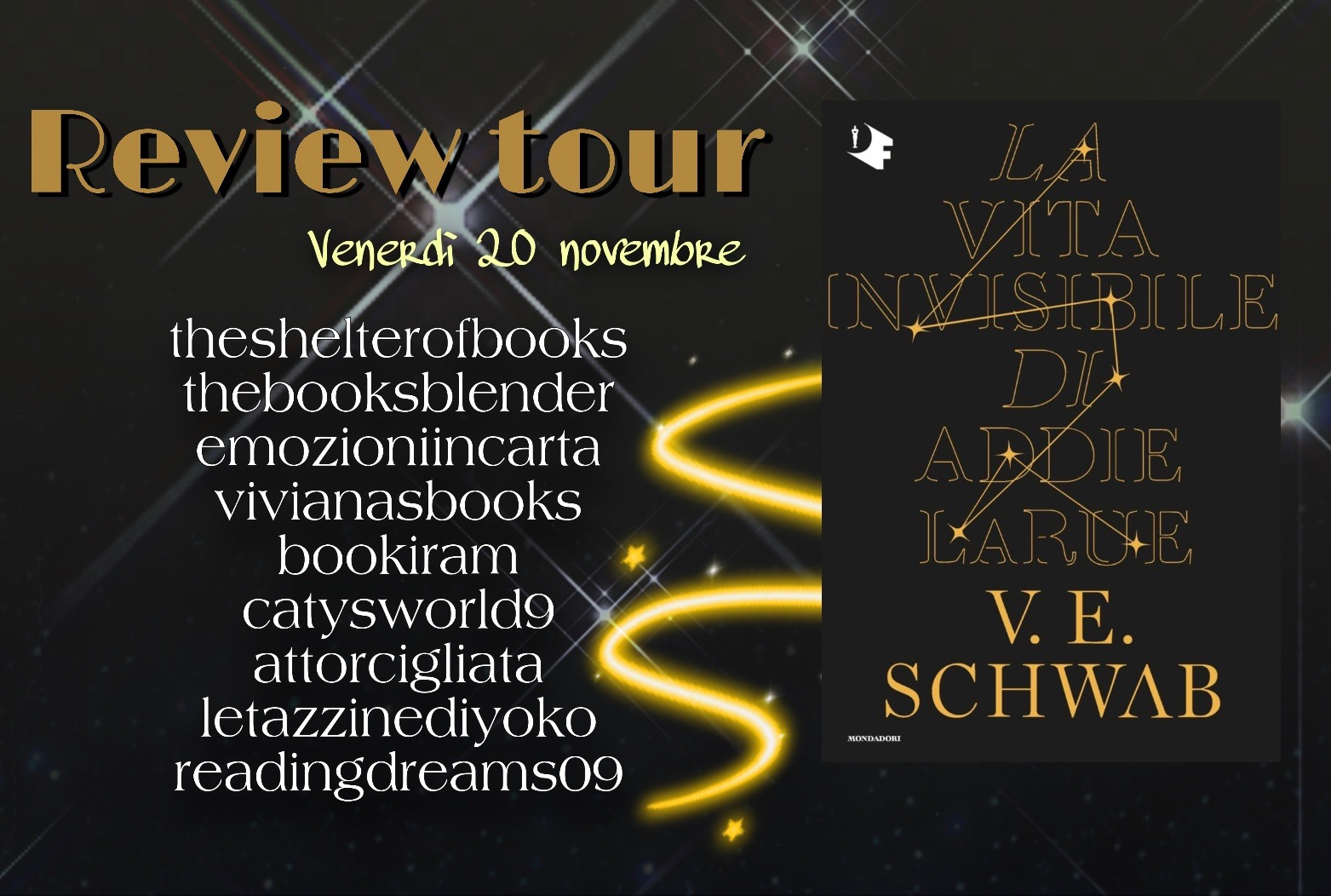 Review Tour: La vita invisibile di Addie La Rue